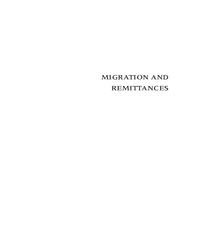 Migration and Remittances - Eastern Europe and the Former Soviet Union