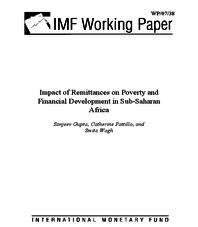 Impact of Remittances on Poverty and Financial Development in Sub-Saharan Africa