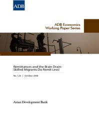 Remittances and the Brain Drain - Skilled Migrants Remit Less!