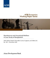 Remittances and Household Welfare - A Case Study of Bangladesh