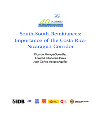 South-South Remittances: Importance of the Costa Rica-Nicaragua Corridor