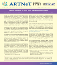 External Financing in South Asia: The Remittances Option