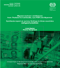 Migrant remittances from Thailand to Cambodia, Lao PDR and Myanmar