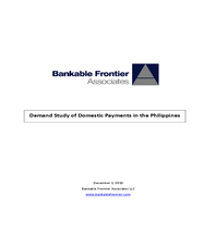 BFA & Gates Foundation: Demand Study of Domestic Payments in the Philippines