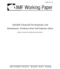 Rainfall, financial development and remittances: evidence from Sub-Saharan Africa