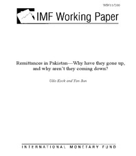 Remittances in Pakistan—Why have they gone up, and why aren't they coming down?