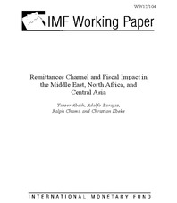 Remittances Channel and Fiscal Impact in the Middle East, North Africa, and Central Asia