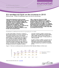 EU remittances back on the increase in 2010