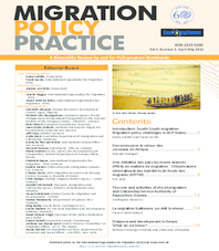 Migration Policy Practice Journal - Vol. II, No. 2